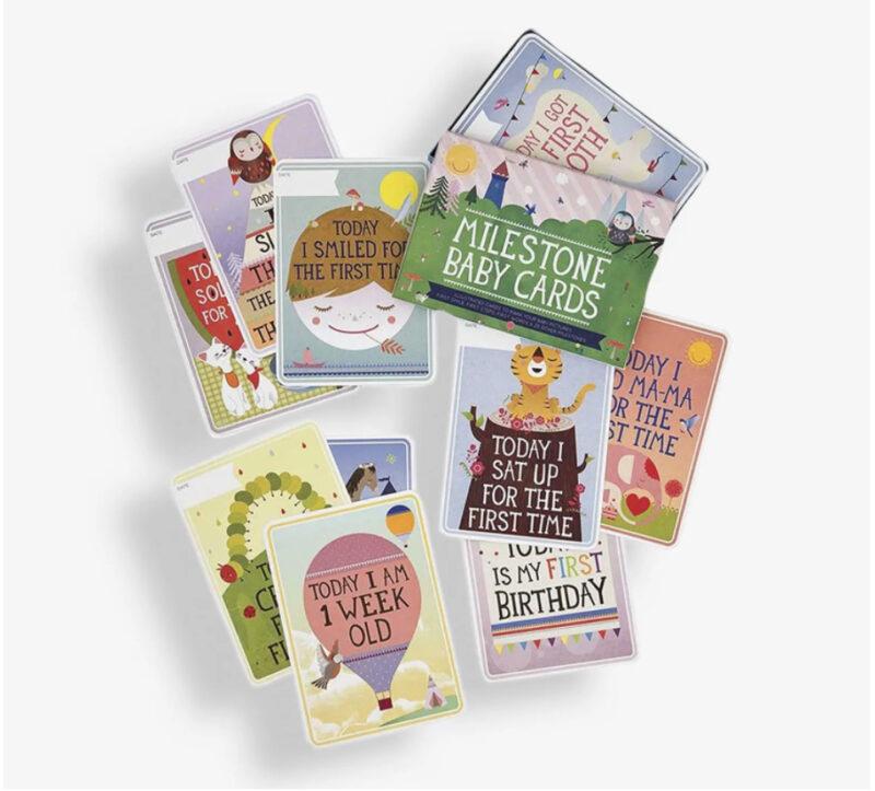 Milestone Baby Cards Newborn baby gift ideas