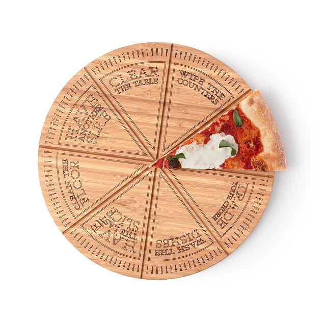 Pizza roulette board
