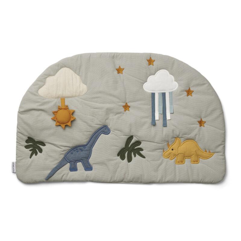 Sofie Organic Cotton Play Mat Grey Newborn baby gift ideas