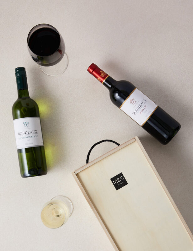 Wine gift ideas set of two french wines