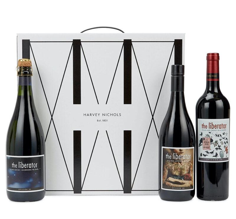 Case of wine from harvey nichols