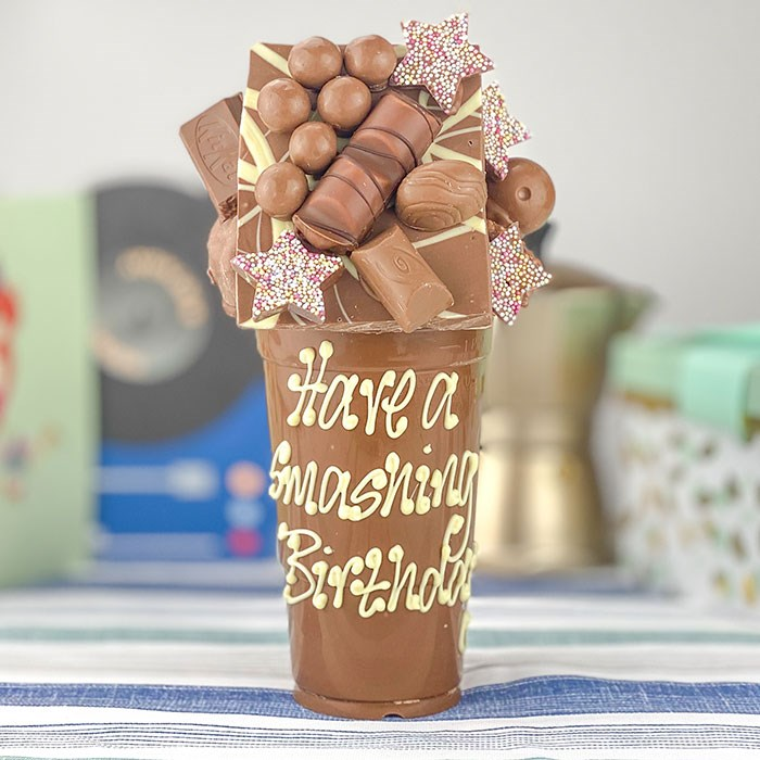 Chocolate smash cup
