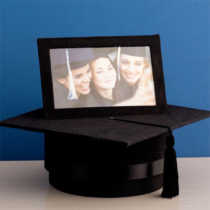 mortarboard hat themed graduation gift idea