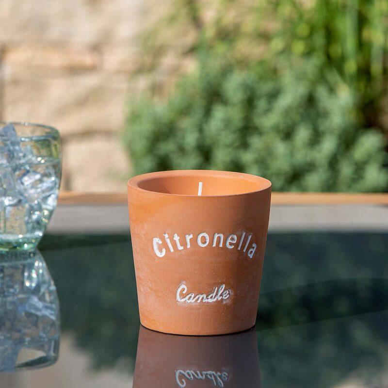 citronella candle small garden gift ideas