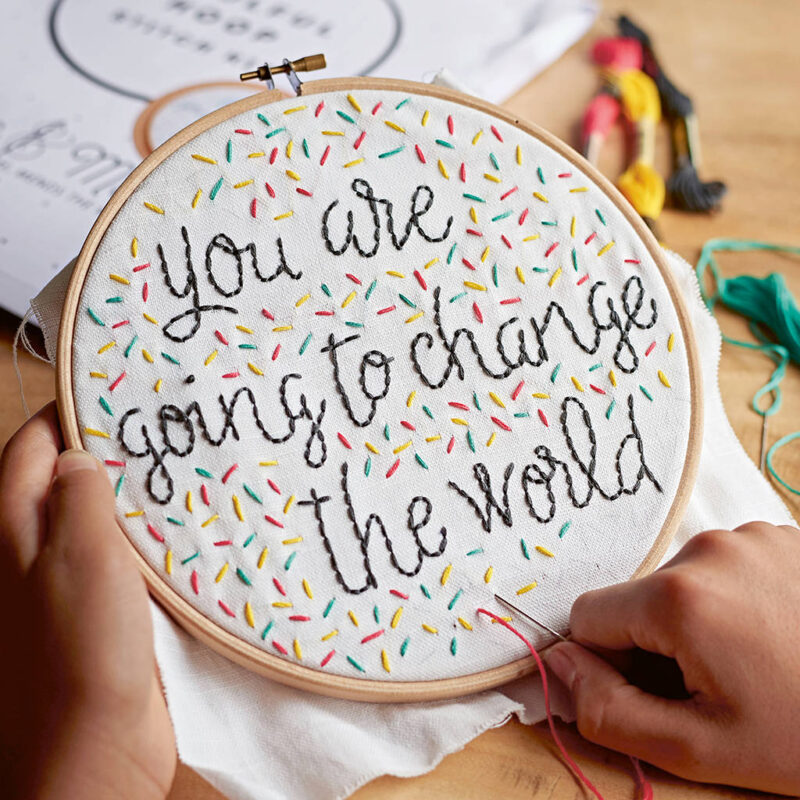 embroidery hoop for graduate