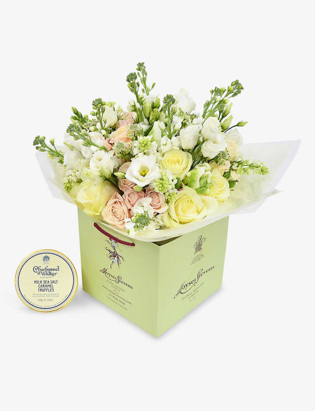 flowers and chocolate gifts for new mums