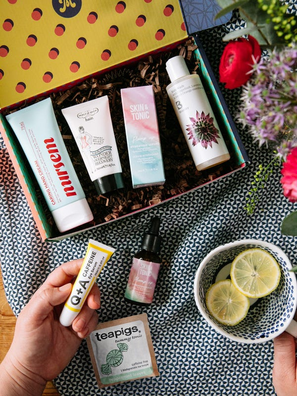 Just for mum self care gift box for new mums