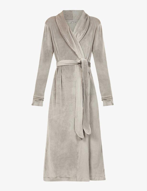 Skims velour robe